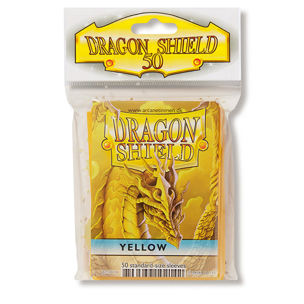 Dragon Shield Sleeves: Standard- Classic Yellow (50 ct.)