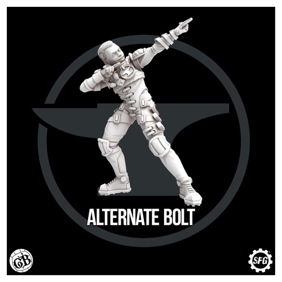 Guild Ball: The Blacksmith's Guild: Bolt Limited Edition (Alternate)