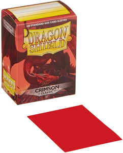 Dragon Shield Sleeves: Standard- Classic Crimson (100 ct.)