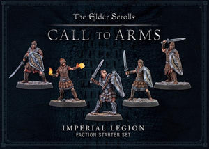 The Elder Scrolls Call To Arms Imperial Legion Hard Plastic Faction Starter