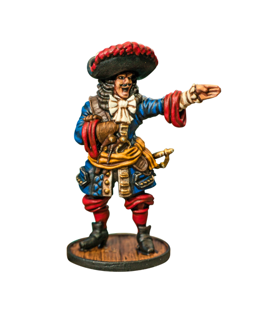 Blood & Plunder - FRENCH BUCCANEER COMMANDER
