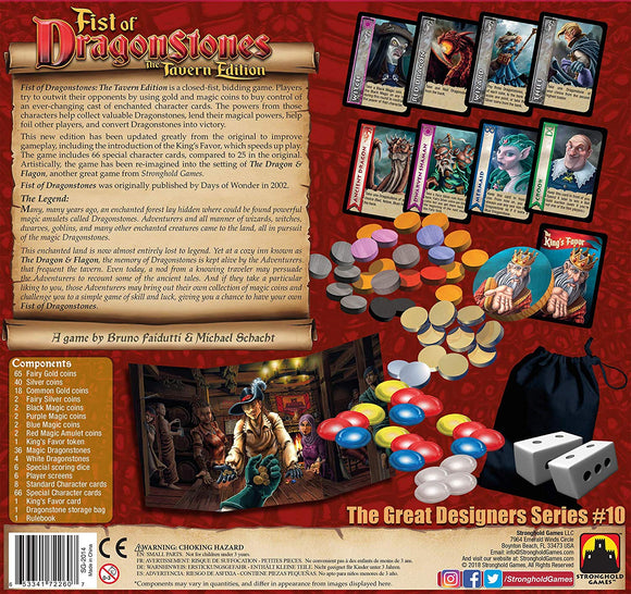 Stronghold Games Fist of Dragonstones the Tavern Edition