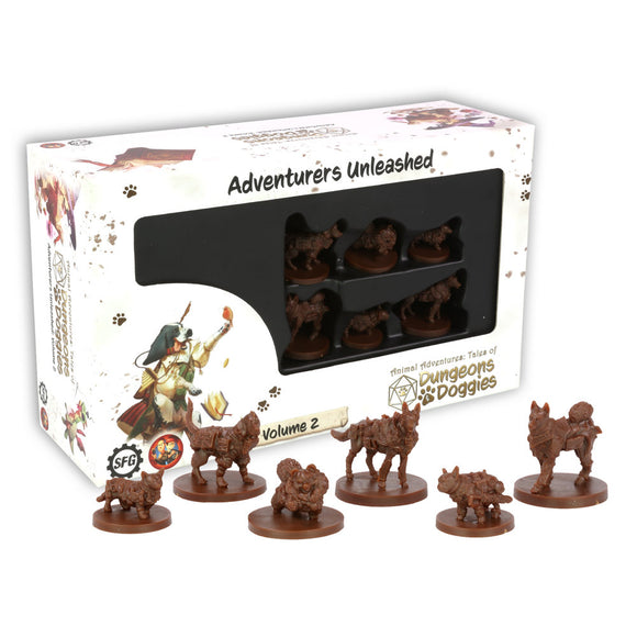 Animal Adventures: Tales of the Dungeon Doggies - Set 2