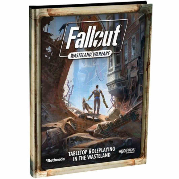 Fallout Wasteland Warfare RPG Core Rulebook (Hardcover)