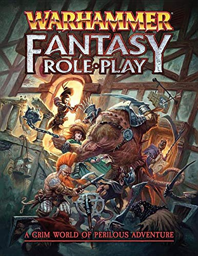 Warhammer Fantasy Roleplay Core Rulebook 4e (Hardcover)