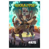 Rockalypse - Fate Core and Fate Accelerated(Softcover)