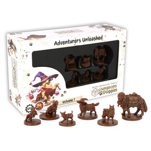 Animal Adventures: Tales of the Dungeon Doggies - Set 1