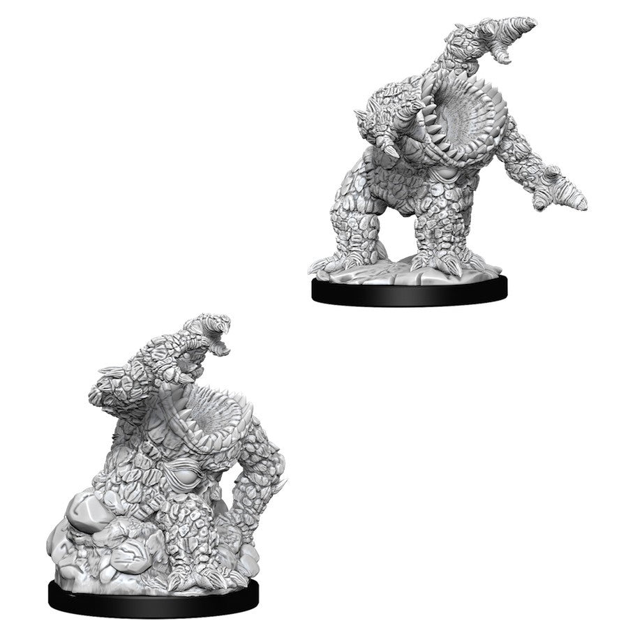 DUNGEONS AND DRAGONS: NOLZUR'S MARVELOUS UNPAINTED MINIATURES - XORN
