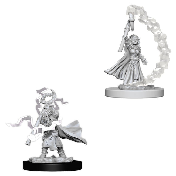 PATHFINDER: DEEP CUTS UNPAINTED MINIATURES - GNOME FEMALE SORCERER