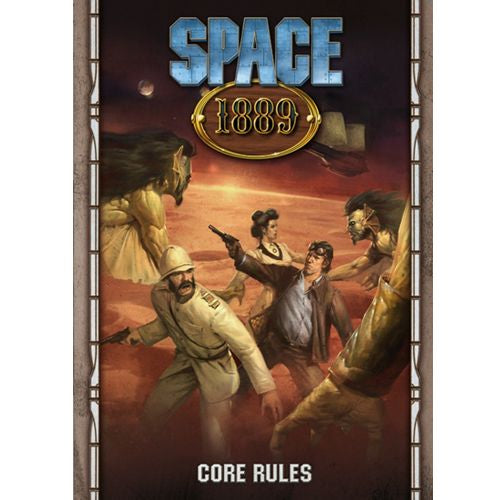 Space 1889 Core Rulebook (Hardcover)