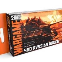 AK-Interactive: 4BO RUSSIAN GREEN COLORS SET