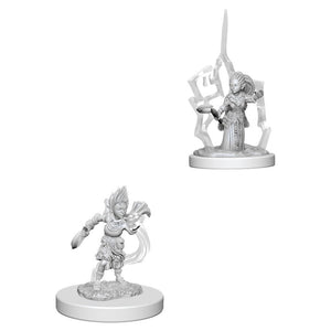 PATHFINDER: DEEP CUTS UNPAINTED MINIATURES - GNOME FEMALE DRUID