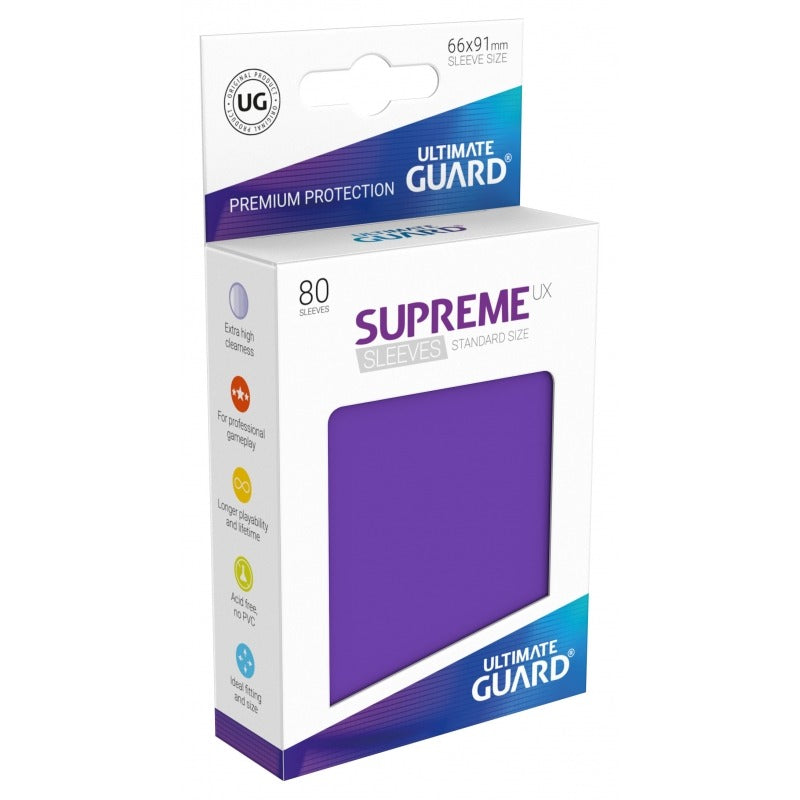 Supreme UX Sleeves Standard Size (80) Purple