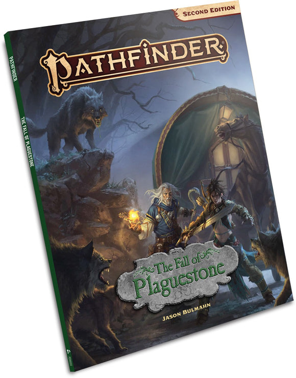 Pathfinder Second Edition: The Fall of the Plaguestone Stand Alone Adventure (paperback)