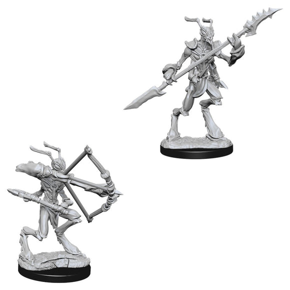 DUNGEONS AND DRAGONS: NOLZUR'S MARVELOUS UNPAINTED MINIATURES - THRI-KREEN