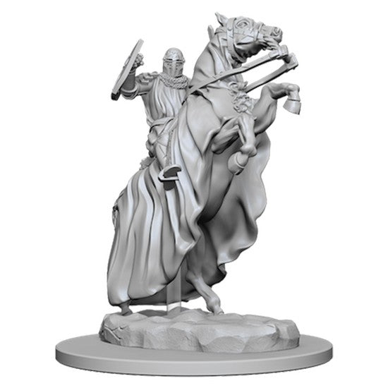 PATHFINDER: DEEP CUTS UNPAINTED MINIATURES - KNIGHT ON HORSE