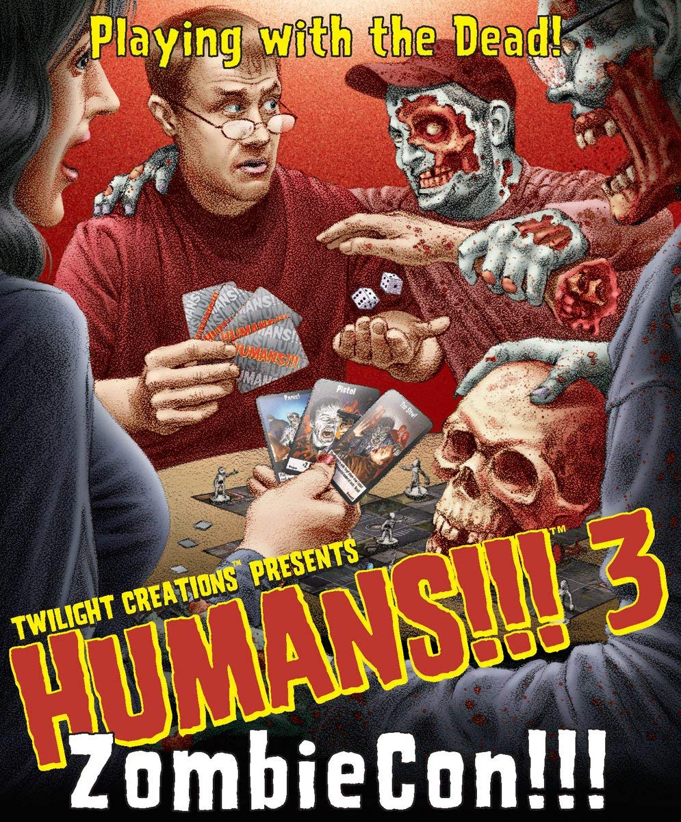Humans!!! 3 - ZombieCon (Requires use of Humans!!! base set to play.)