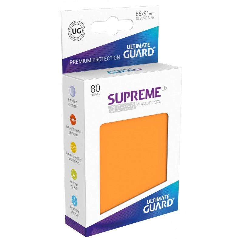 Supreme UX Sleeves Standard Size (80) Orange
