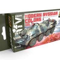 AK-Interactive: MODERN RUSSIAN COLOURS VOL.2 SET