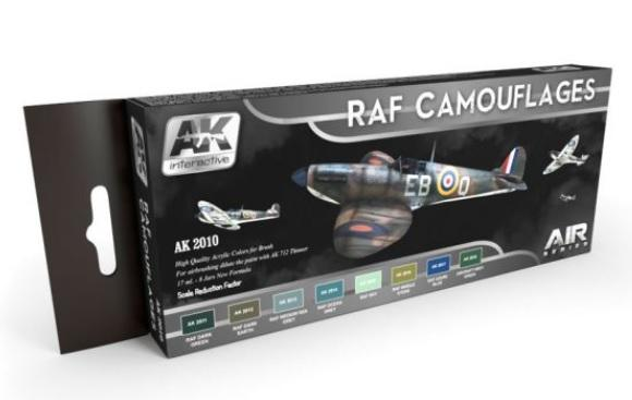AK-Interactive: RAF CAMOUFLAGES COLORS SET