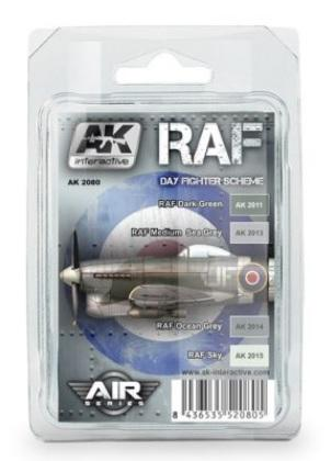 AK-Interactive: RAF DAY FIGHTER SCHEME COLORS SET