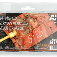 AK-Interactive: Unfinished German Vehicles Weathering Set