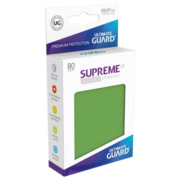Supreme UX Sleeves Standard Size (80) Green