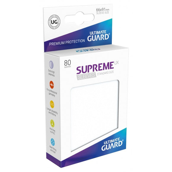 Supreme UX Sleeves Standard Size (80) Frosted