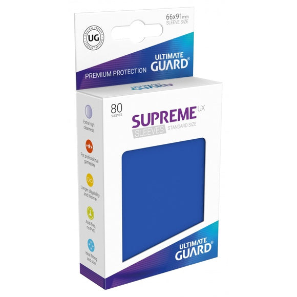 Supreme UX Sleeves Standard Size (80) Blue