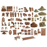 Mantic Terrain Crate: Dungeon Depths 73 Piece Set