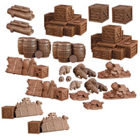 Mantic Terrain Crate: Dungeon Debris 24 Piece Set