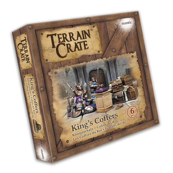 Mantic Terrain Crate: King's Coffers 6 Piece Set