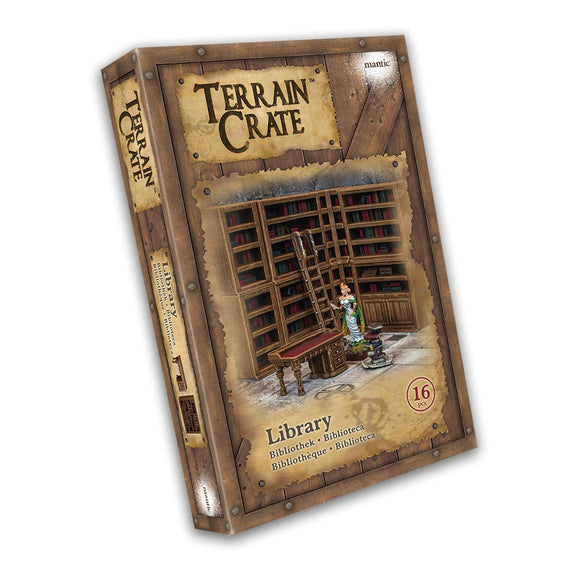 Mantic Terrain Crate: Library 16 Piece Set