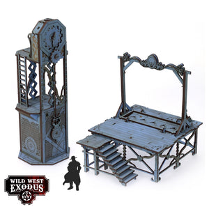 Wild West Exodus: Red Oak Gallows & Clock Tower