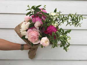 Barnswallow's Memorial Day Peony Floral Design Course! - May 29th