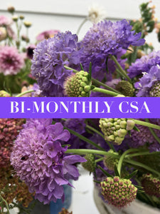 Bi-Monthly CSA Bouquet Share - Farm Pick Up (Oskaloosa)