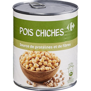 400G CARREFOUR POIS CHICHES