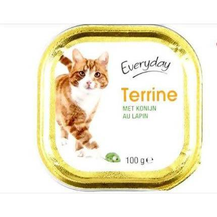 EVERYDAY TERRINE POUR CHAT (AU LAPIN) 100gm - AfriMarket