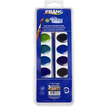 PAINT SET SCHOOL 16PC - AfriMarket