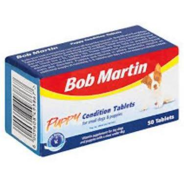Condition Tablets Puppy Bob Martin 50S box - AfriMarket