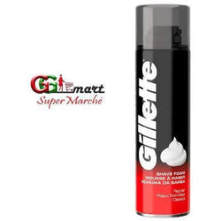 200ML Gillette Shave Foam Regular Red - AfriMarket