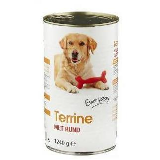 DOG FOOD EVERYDAY TERRINE PATE AU BOEUF 1240GM - AfriMarket