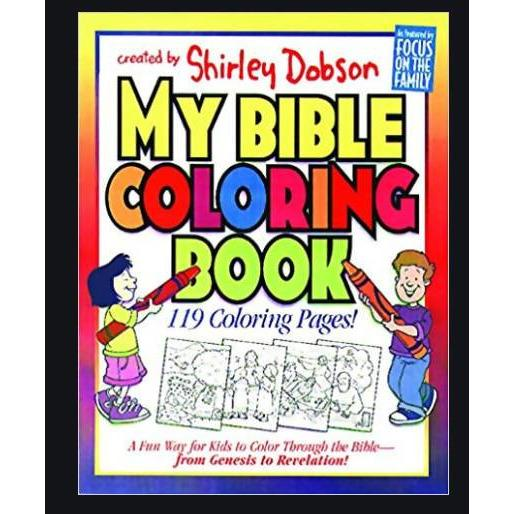 COLOURING BOOK MY BIBLE - AfriMarket