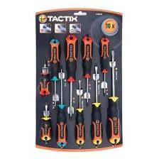 CREWDRIVER SET TACTIX 10PC - AfriMarket