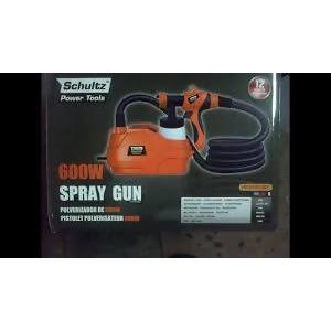 SPRAY GUN PAINT SCHULTZ 600 W - AfriMarket