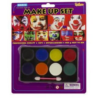 paint kit face TEDDY 7 PC - AfriMarket