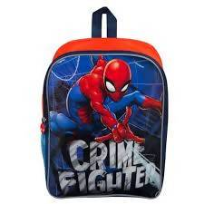 BACKPACK S18 MED SPIDERMAN 38CM - AfriMarket