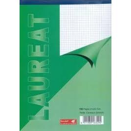 Bloc Notes Laureat A5 150 Pages x10 Pcs - AfriMarket