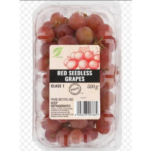 RED SEEDLESS GRAPE 500G PACK - AfriMarket