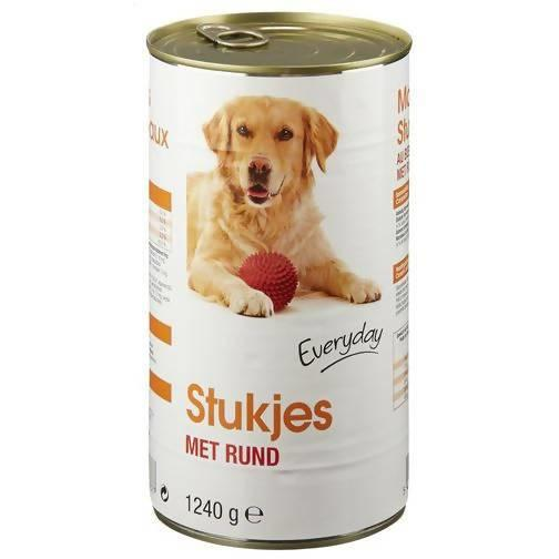 DOG FOOD EVERYDAY MORCEAUX BALLS BOEUF 1240G (1623) - AfriMarket